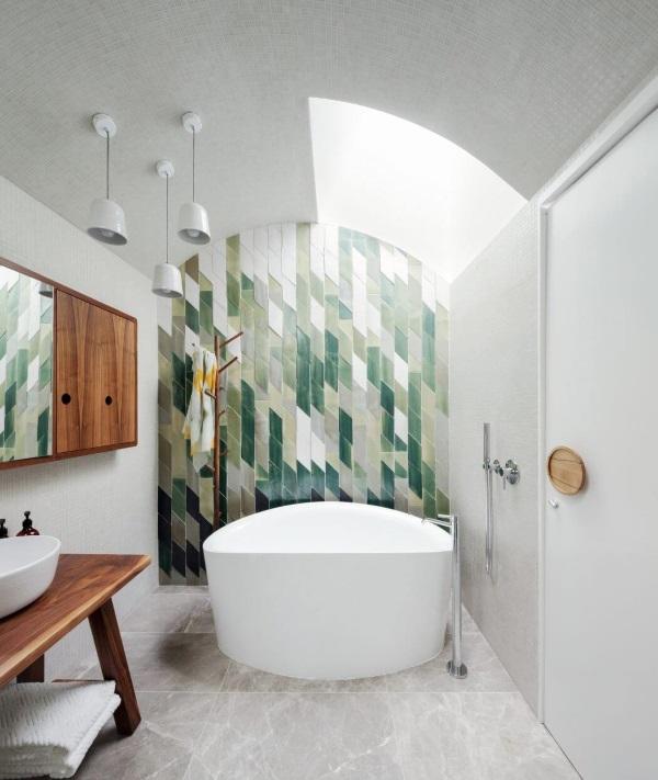 Красивый дизайн ванной комнаты фото 29