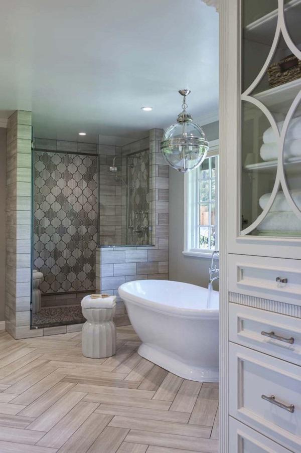 Красивый дизайн ванной комнаты фото 27