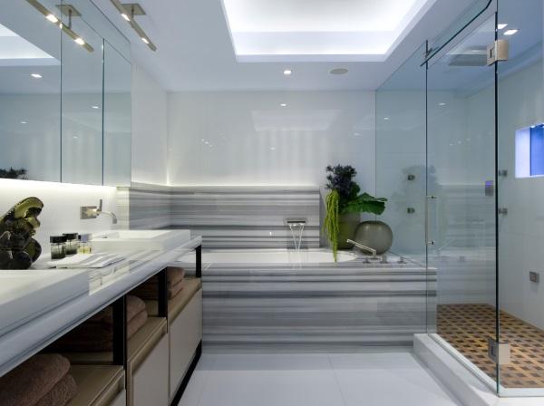 Самые красивые ванные комнаты фото 32