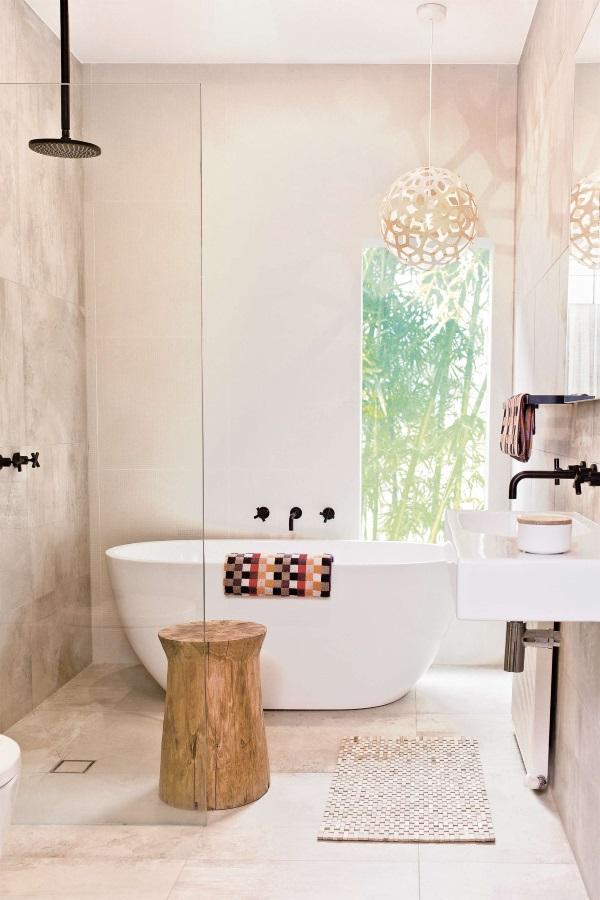 Красивые интерьеры ванных комнат фото 41
