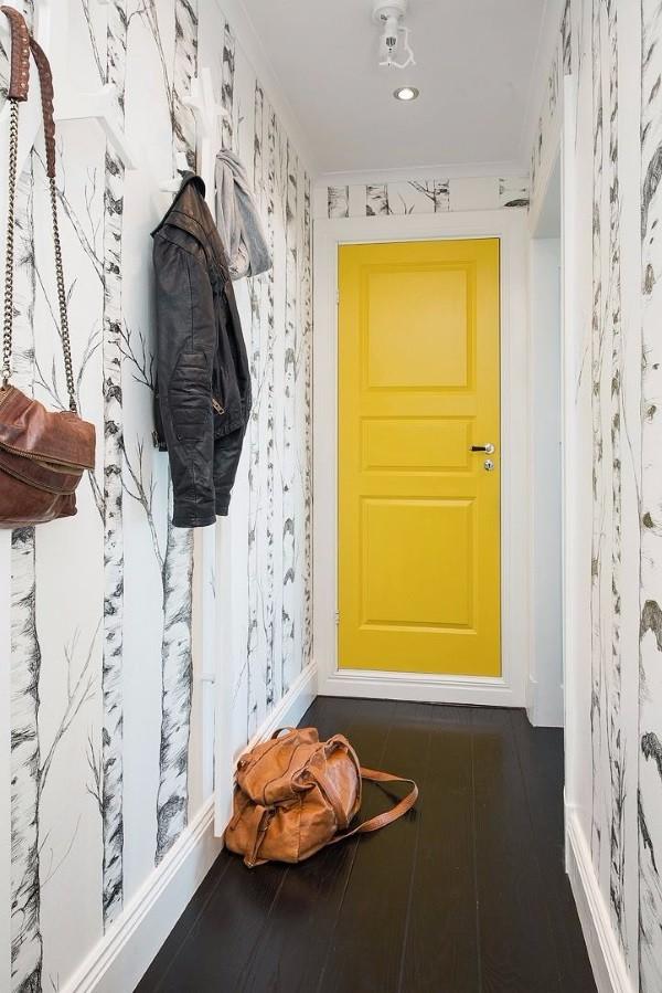 Дизайнерские обои в коридор фото 2