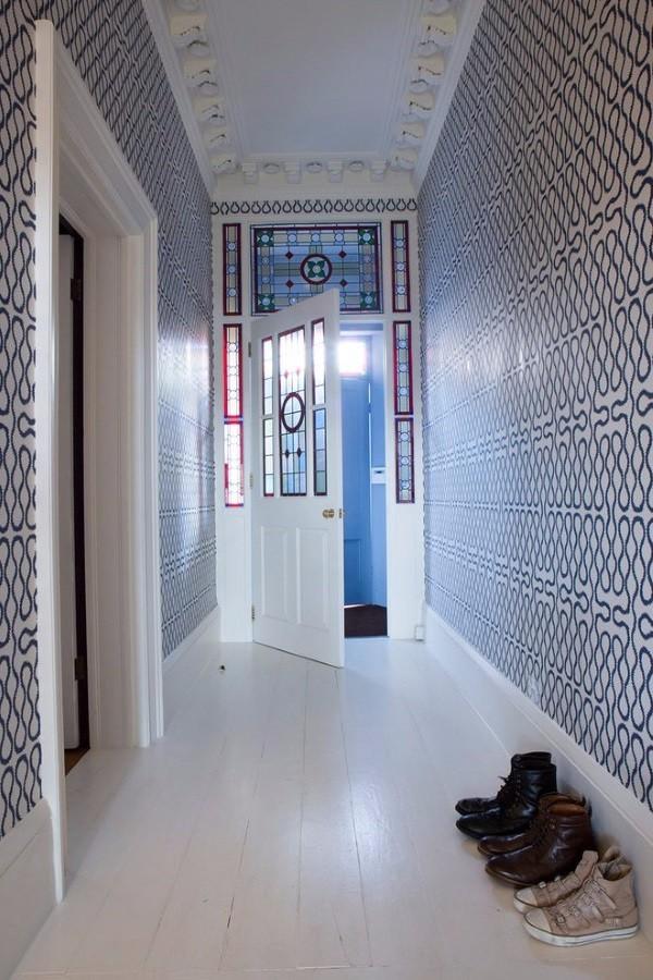 Обои для узкого коридора в квартире фото 1