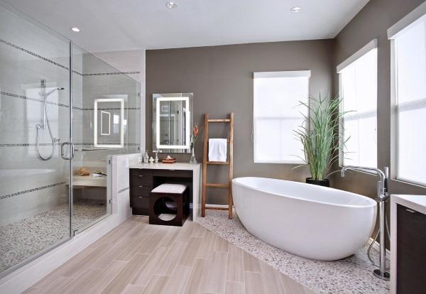 Красивые интерьеры ванных комнат фото 42