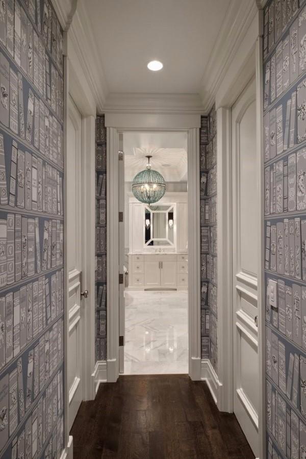 Обои для узкого коридора в квартире фото 2
