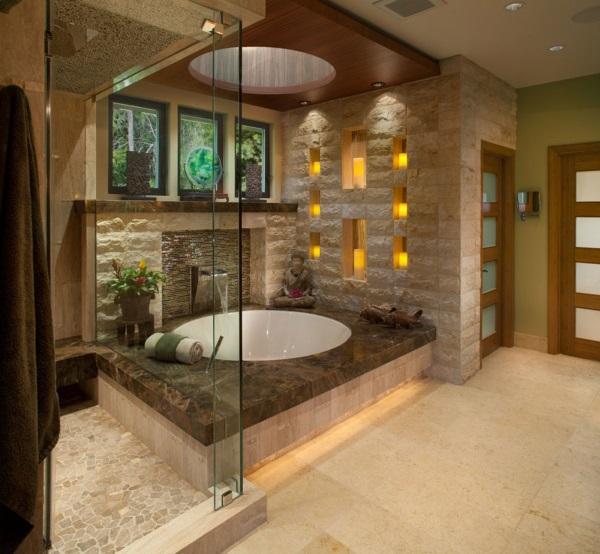 Красивые интерьеры ванных комнат фото 43