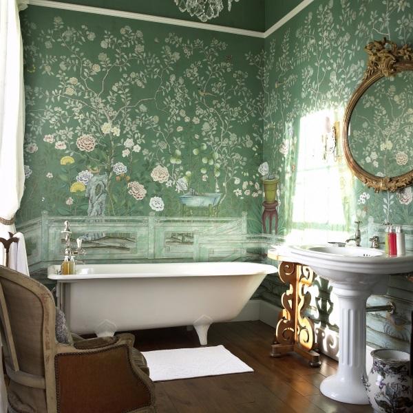Красивые интерьеры ванных комнат фото 44