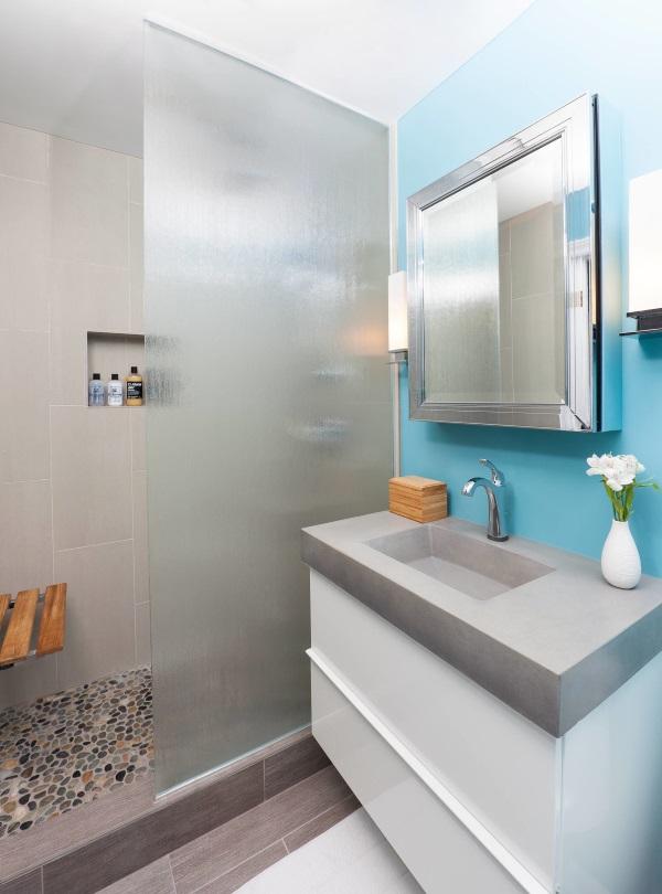 Красивые интерьеры ванных комнат фото 45