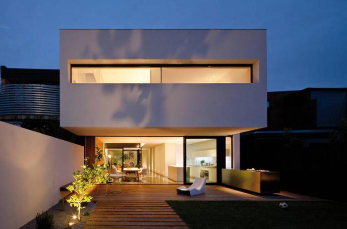 Декор фасадов частных домов