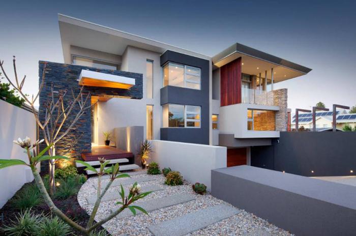 Декор фасадов частных домов фото