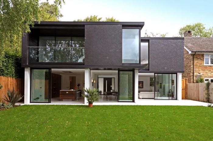 Красивые фасады домов фото