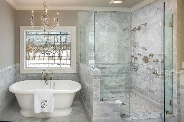 Как красиво сделать ванную комнату фото 49