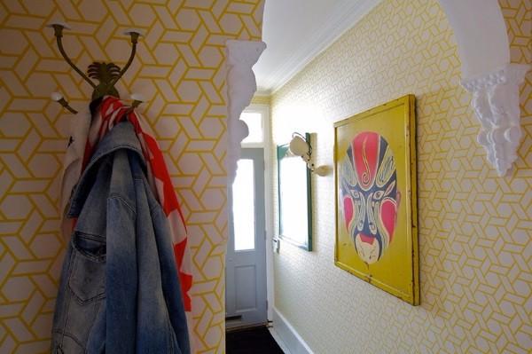 Светлые обои в коридор фото