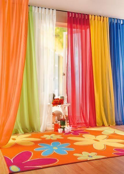 Дизайн штор в детскую комнату фото 1