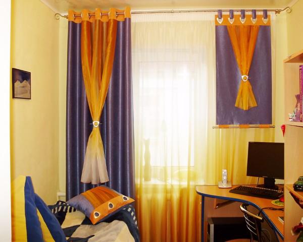Шторы в детскую комнату фото 4