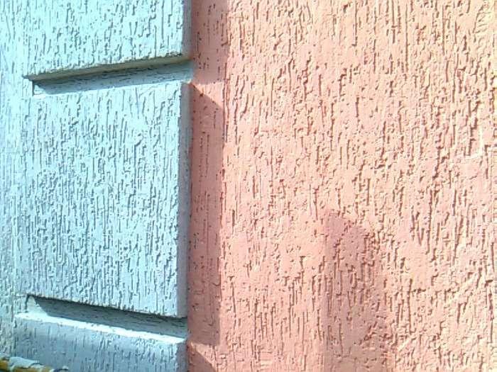 Штукатурка короед на фасадах домов, фото 4