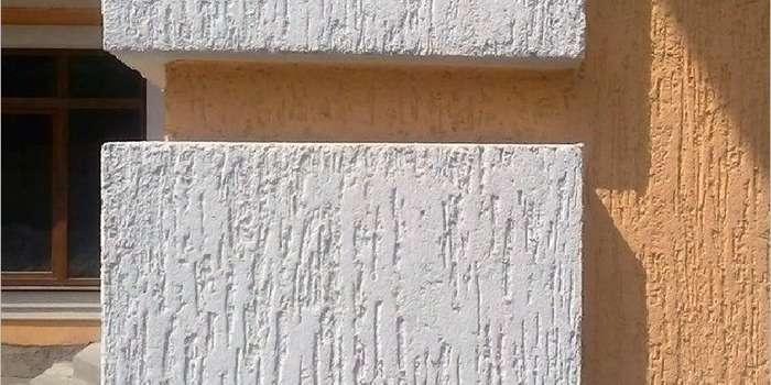 Штукатурка короед на фасадах домов, фото 5