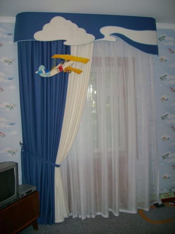 Шторы в детскую комнату фото 2