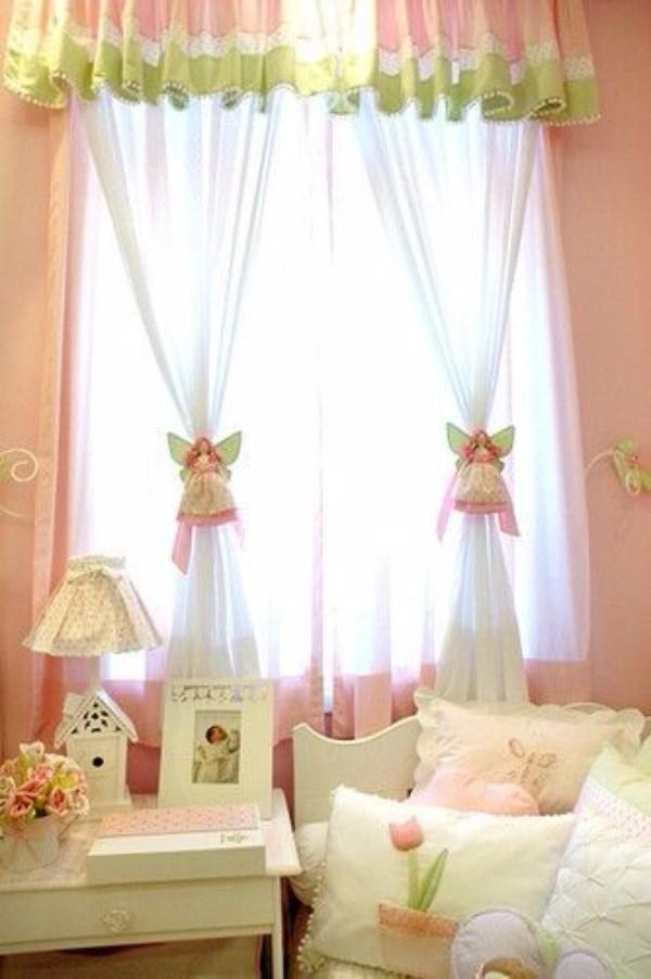 Аксессуары для штор в детскую ангелочки