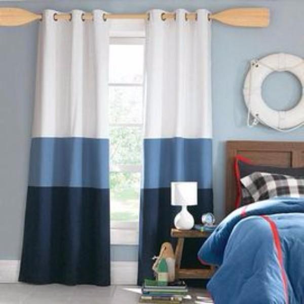 Дизайн штор в детскую комнату фото 2