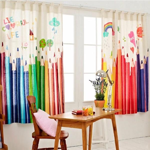 Дизайн штор в детскую фото 1