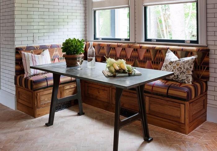 Уютный кухонный уголок фото