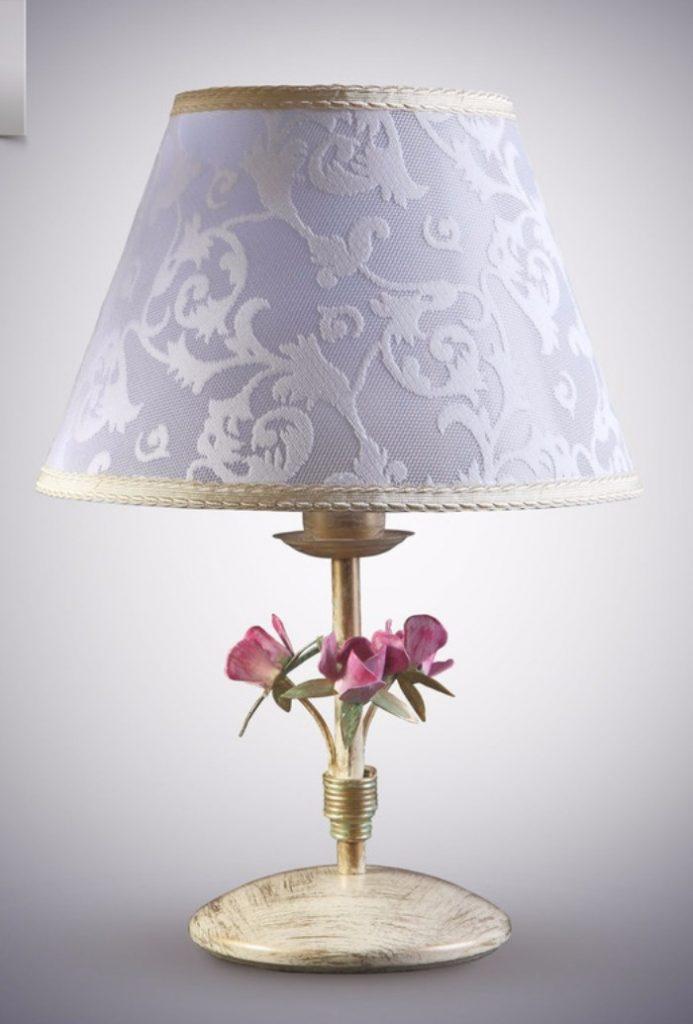 Настольные лампы в стиле прованс фото 1