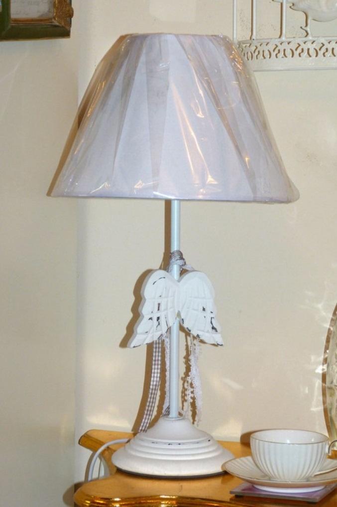 Настольные лампы в стиле прованс фото 2