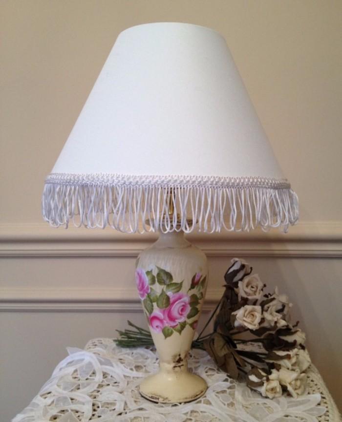 Настольные лампы в стиле прованс фото 3