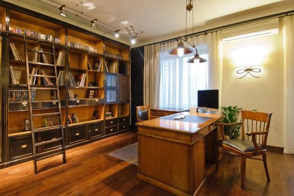 Кабинет в квартире фото 2