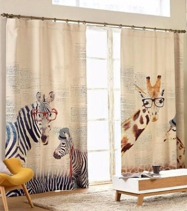 Дизайн штор в детскую комнату фото 3