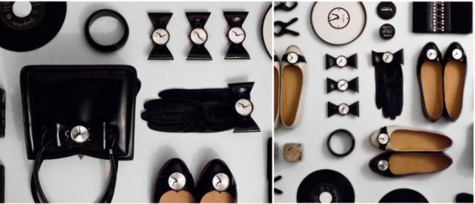 Часы-туфли
