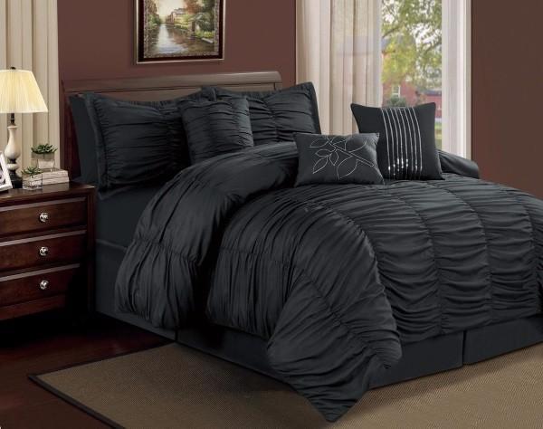 Черное постельное белье фото 55