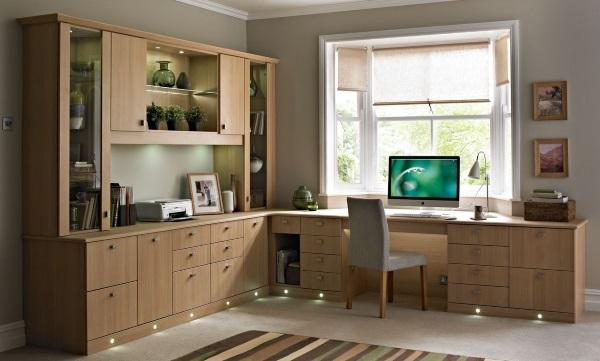 Мебель для кабинета в квартире фото 2