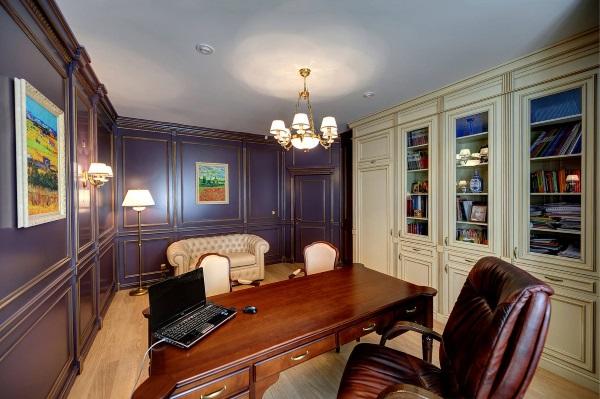 Кабинет в квартире фото 3
