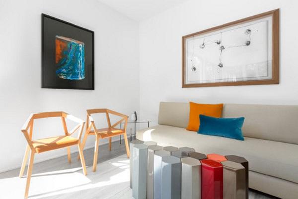 Современный дизайн зала 18 кв в квартире фото 6