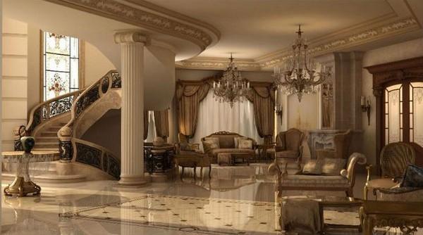 Дизайн интерьера в классическом стиле, фото 2