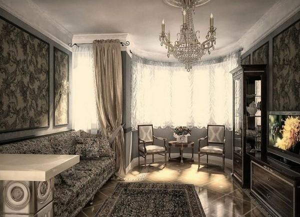Дизайн интерьера в классическом стиле, фото 6