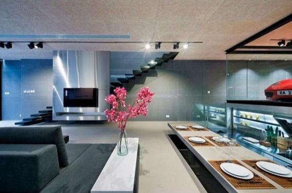 Дизайн интерьера в стиле хай тек, фото 1