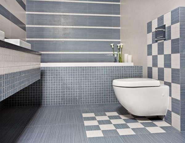 Дизайн плитки в туалете, фото 15