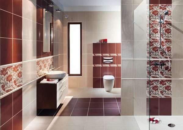 Дизайн плитки в туалете, фото 16
