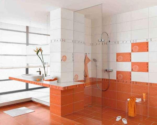 Дизайн плитки в туалете, фото 21
