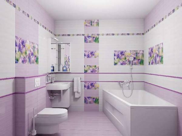 Дизайн плитки в туалете, фото 8