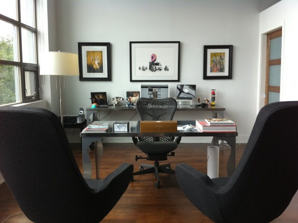 Элегантный дизайн кабинета в квартире