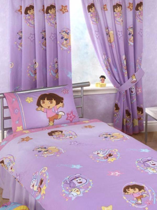 Дизайн штор в детскую комнату фото 4
