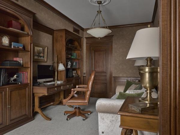 Мебель для кабинета в квартире фото 3