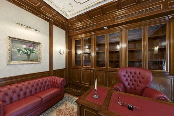 Дизайн кабинета в квартире фото 1