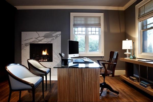 Дизайн кабинета в квартире фото 2