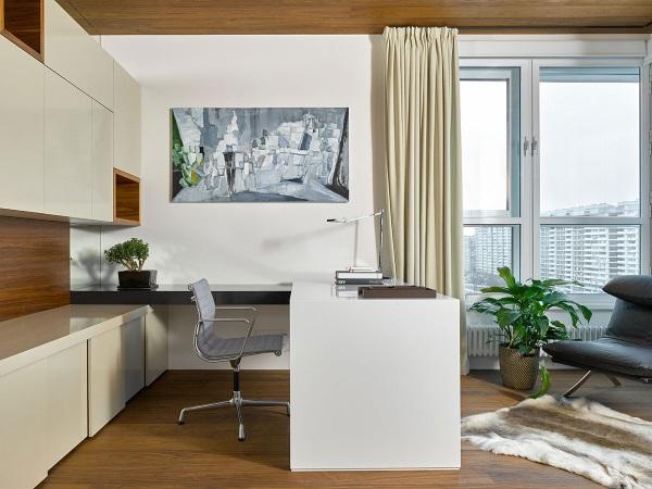 Дизайн кабинета в квартире фото 5