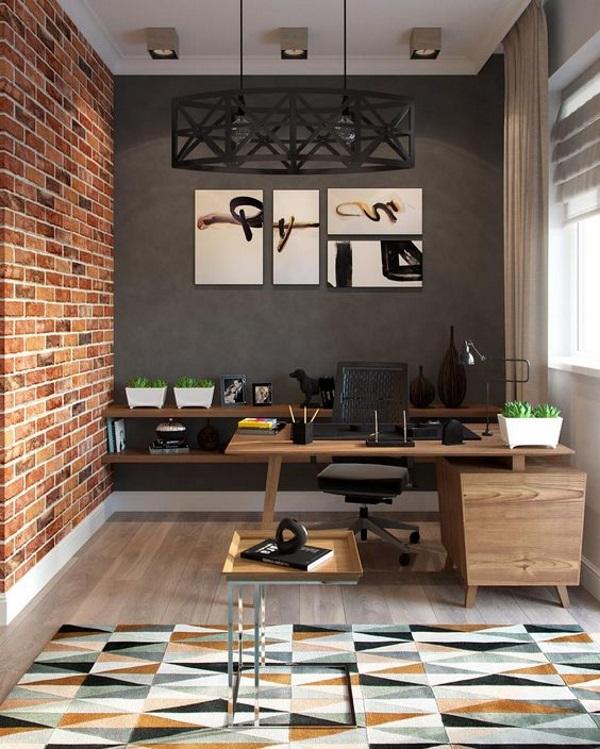 Кабинет в квартире дизайн фото 1