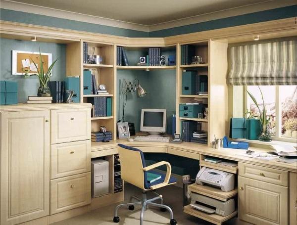Мебель для кабинета в квартире фото 6